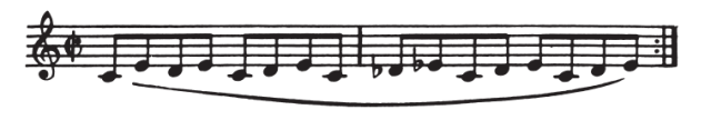 Flute Pinky Motion Exercise