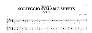 Sample - Boytim Solfeggio Syllable Sheet - Set 2