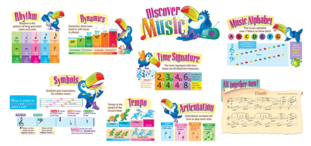 Discover Music Poster Set